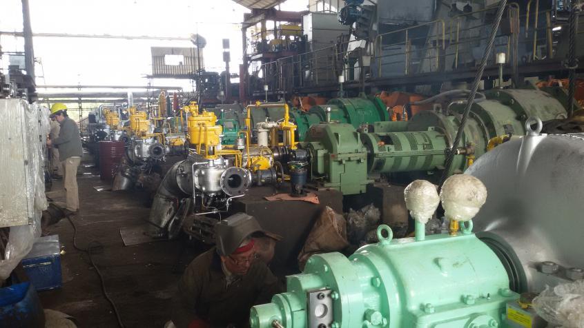 Calibración y mantenimiento de reguladores mecánicos de velocidad